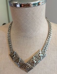 WHBM Silver Necklace